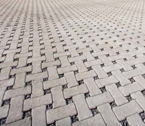 Permeable pavers such can help reduce flooding and the cost of flood damage