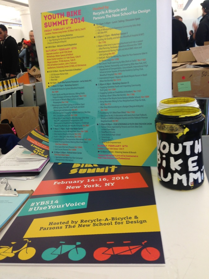 Youth Bike Summit Brochure